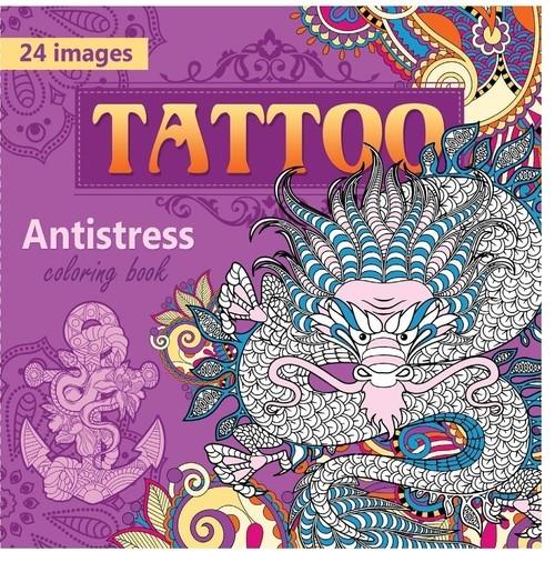 Kolorowanka antystresowa Tattoo
