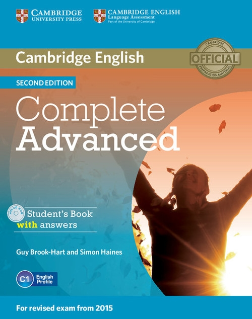 Complete Advanced Student's Book with Answers + CD Brook-Hart Guy, Haines Simon