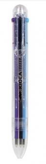 Długopis 6 kolorów KIDEA