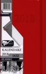 Kalendarz Jazz czerwony A5 dzienny 2018
