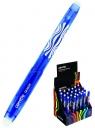 Długopis wymazywalny Corretto GR-1609, display 24 sztuki - niebieski