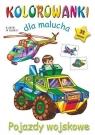 Kolorowanki dla malucha Pojazdy wojskowe Budek Mariola