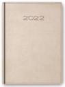 Kalendarz 2022 Dzienny A5 Vivella Beżowy 21D-19