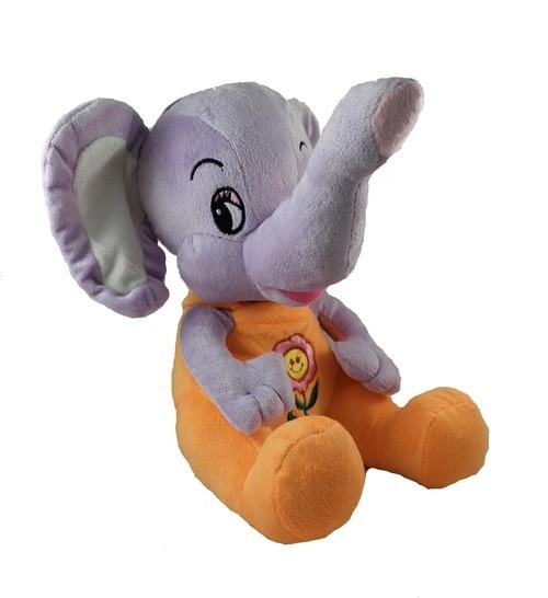 Słonik Elefant pomarańczowy 30cm