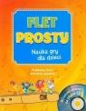Flet prosty Nauka gry dla dzieci z płytą CD