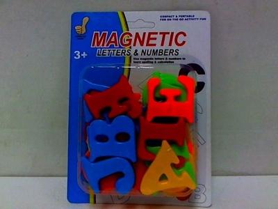Klocki magnetyczne Dromader literki magnetyczne na blistrze (130-02690)