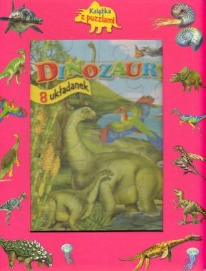 Dinozaury. Książka z puzzlami praca zbiorowa