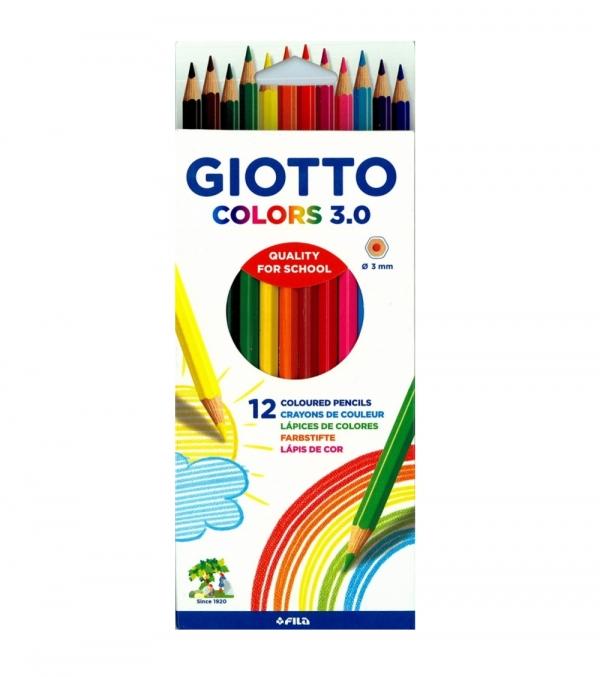 Kredki Giotto Colors 3.0 12szt.