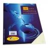 Papier ozdobny (wizytówkowy) Biurovita gładki-krem A4 kremowy 246g