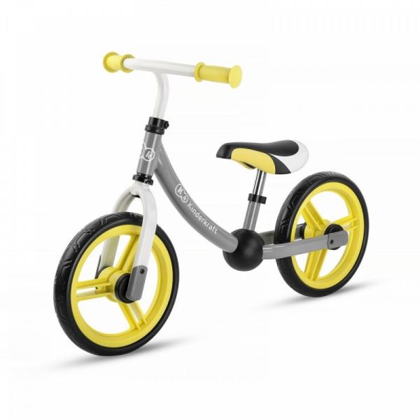 Rowerek biegowy 2way Next Żółty (KKR2WNXLTYE00)