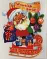 Karnet 3D Świąteczny składany MIX BU1004