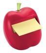 Podajnik do bloczków samoprzylepnych jabłko  POST-IT czerwony + bloczek