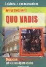 Quo Vadis Lektura z opracowaniem