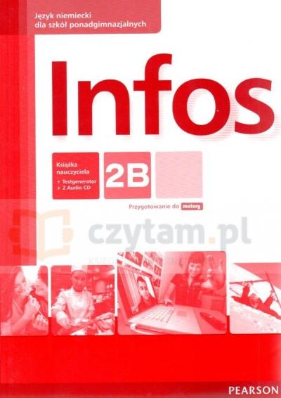 Infos 2B REV książka nauczyciela +CD Birgit Sekulski, Nina Drabich, Tomasz Gajownik