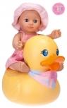 Lalka Kids Girl do kąpieli z pływającą kaczką