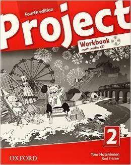 Project 2 Fourth Edition SP Ćwiczenia + Audio CD and Online Practice. Język angielski (2014) Tom Hutchinson