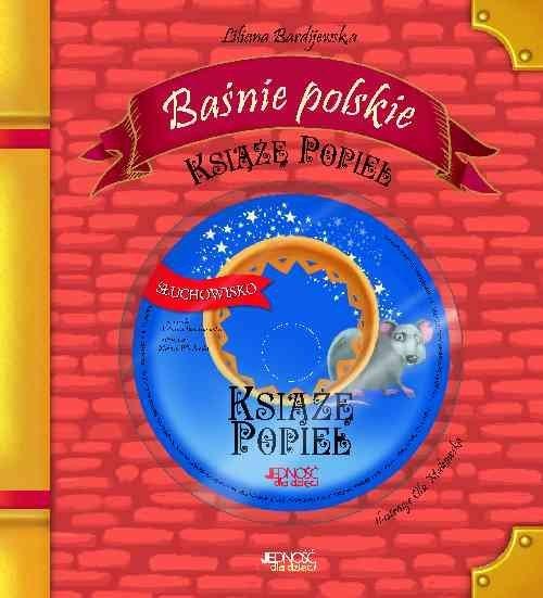 Baśnie polskie Książę Popiel + CD Bardijewska Liliana