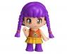 PinyPon City - Seria Natura - laleczka 7cm w fioletowych włosach z akcesoriami