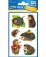 Naklejki dla dzieci - jeżyki (4306)