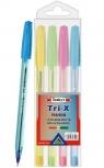 Długopis Today's Trix Fashion Neon - 4szt