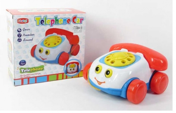 Ciągacz telefonik 20cm z dźwiękiem