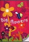Zeszyt A5 w trzy linie 16 kartek Big flowers