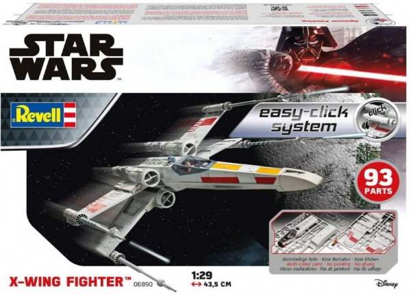 Model plastikowy Star Wars X-Wing Fighter Easy-Click (06890)