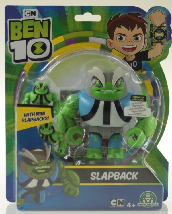 Ben 10: Figurka podstawowa 13 cm seria 7 - Slapback (BEN39610)