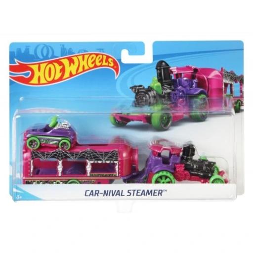 Hot Wheels: Ciężarówka Car-Nival Steamer (BDW51/FKW90)