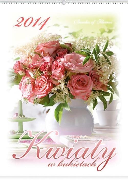 Kalendarz 2014 Kwiaty w bukietach