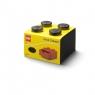 Szufladka na biurko klocek LEGO Brick 4 - Czarna (40201733)