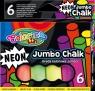Kreda Jumbo Colorino Kids neon, 6 kolorów (92081PTR)