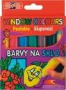Farby witrażowe 5 kolorów + 2 kontury