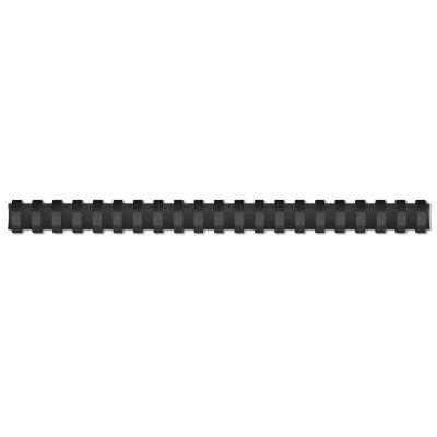 Grzbiety do bindowania Titanum A4 - czarny śr. 22 mm