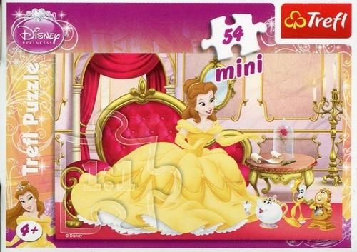 Puzzle 54 Mini Disney Księżniczki Bella (19390)