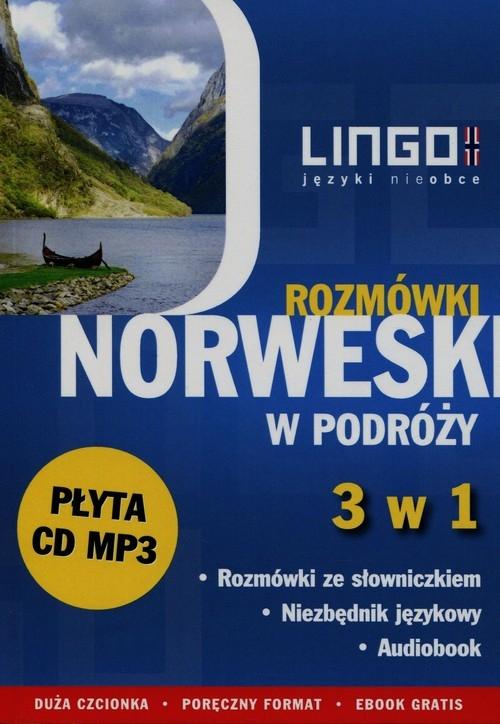Norweski w podróży Rozmówki 3 w 1 + CD Krepsztul Izabela