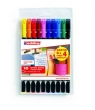 Kolorowe pisaki Edding 10 kolorów