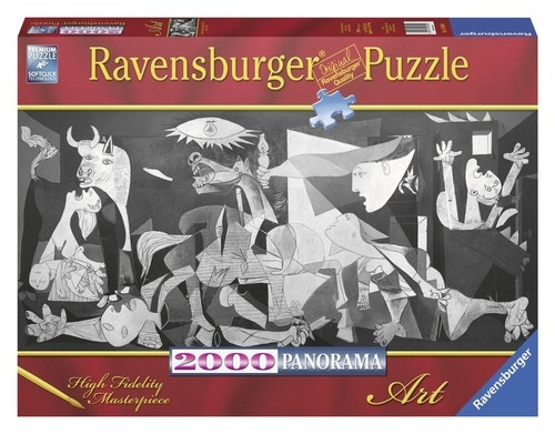 Puzzle panorama Picasso Guernica 2000 (RAP166909)