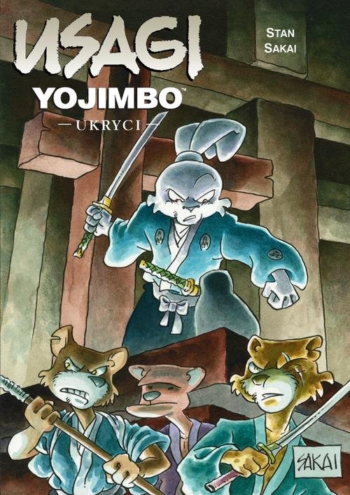Usagi Yojimbo Tom 28 Ukryci Sakai Stan