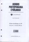 Kodeks Postępowania Cywilnego Zestaw nowelizujący nr 107  Gudowski Jacek
