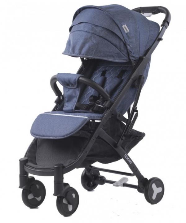 Wózek spacerowy S600 Jeans (Tesoro S600-Denim blue)