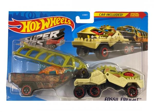 Hot Wheels: Ciężarówka Fossil Freight (BDW51/GKC25)