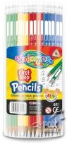 Ołówek do nauki pisania trójkątny mix