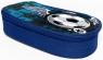 Piórnik owalny Donau Soccer Style niebieski (2451003-99)