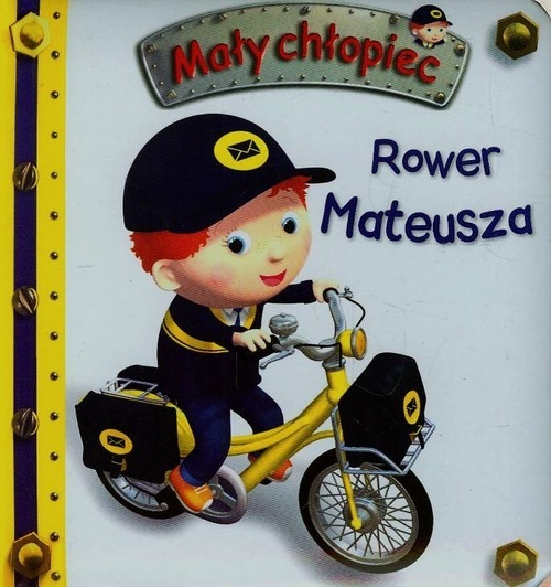Rower Mateusza Mały chłopiec Beaumont Emilie