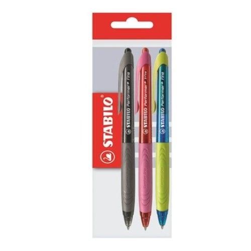 Długopis Stabilo 3 sztuki