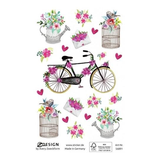 Naklejki kreatywne Z Design - Poczta kwiatowa (56891)