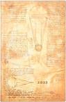 Kalendarz książkowy Flexi maxi 2022 12M Sun&Moon
