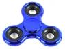 Fidget Spinner stalowy połysk metalic niebieski