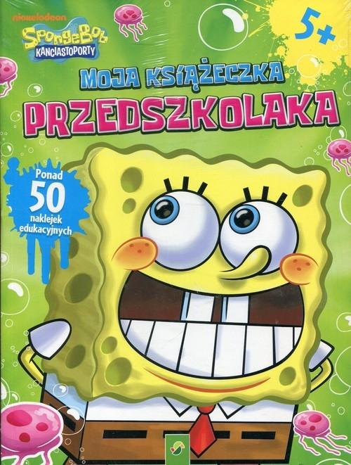 Książeczka przedszkolaka SpongeBob